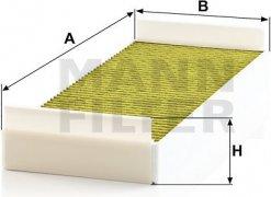 Kabínový filter MANN FILTER FP 4795