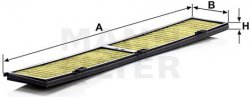 Kabínový filter MANN FILTER FP 8430