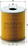 Olejový filter MANN FILTER H 1034