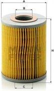 Olejový filter MANN FILTER H 1038 x
