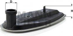 Filter automatickej prevodovky MANN FILTER H 182 KIT