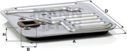 Filter automatickej prevodovky MANN FILTER H 18 001 KIT