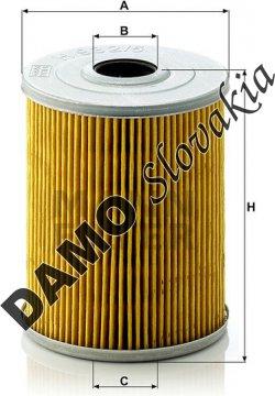 Olejový filter MANN FILTER H 932/5 x