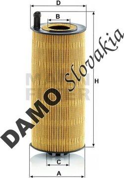 Olejový filter MANN FILTER HU 12 006 z