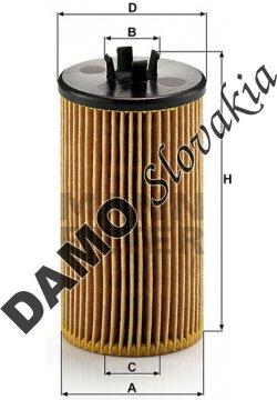 Olejový filter MANN FILTER HU 612/2 x