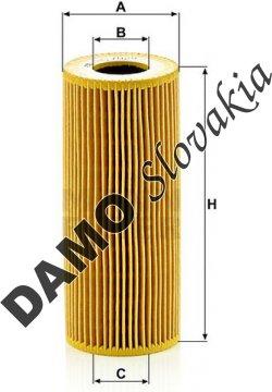 Olejový filter HU 7029 z