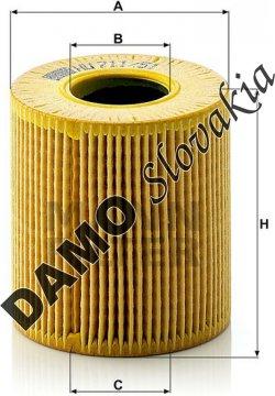 Olejový filter HU 711/51 x