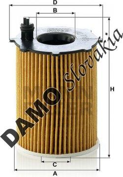 Olejový filter HU 716/2 x