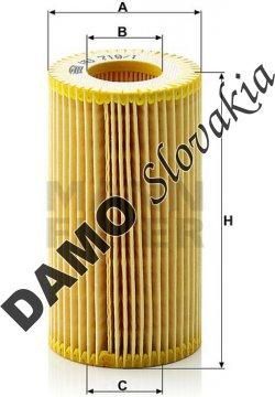 Olejový filter HU 718/1 z