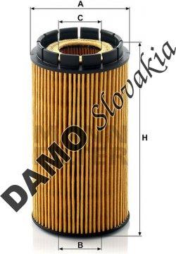 Olejový filter HU 718/2 x