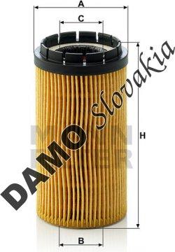 Olejový filter MANN FILTER HU 718 x