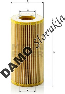 Olejový filter MANN FILTER HU 719/8 x