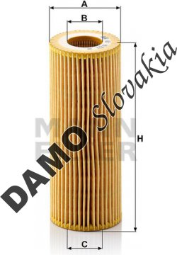 Olejový filter HU 722 x