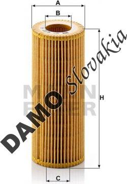 Olejový filter HU 722 y