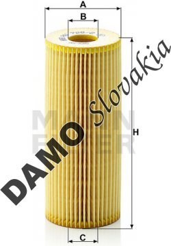 Olejový filter MANN FILTER HU 726/2 x