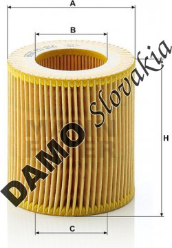Olejový filter HU 816 x