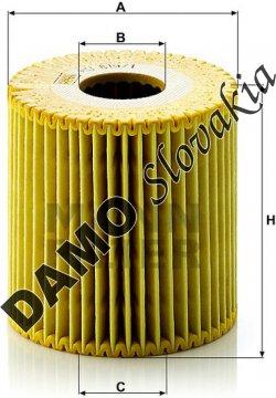 Olejový filter HU 819/1 x