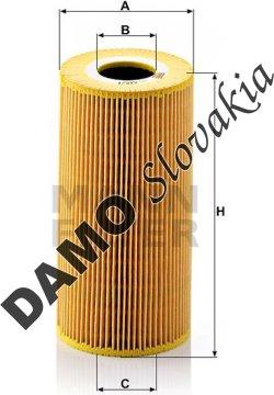 Olejový filter HU 848/1 x