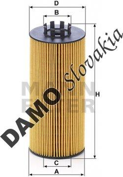 Olejový filter MANN FILTER HU 9003 z