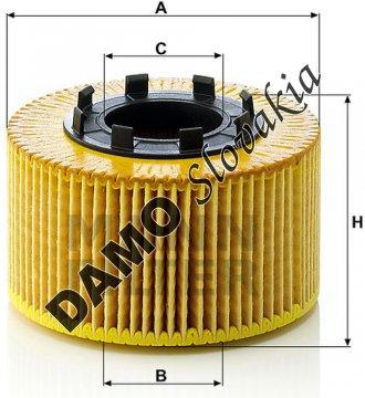 Olejový filter HU 920 x