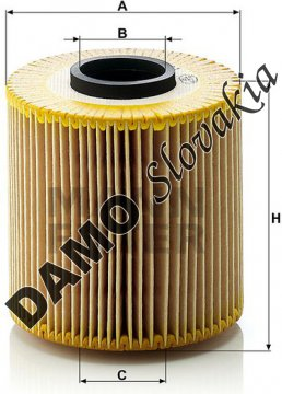 Olejový filter HU 921 x