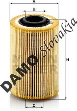 Olejový filter MANN FILTER HU 924/2 x