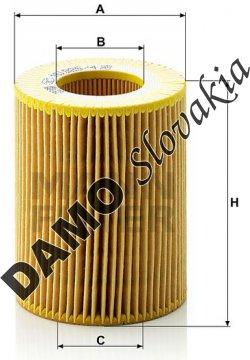 Olejový filter MANN FILTER HU 925/4 x