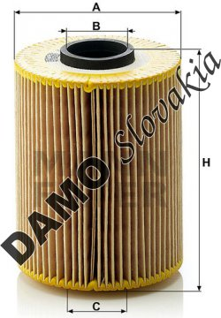 Olejový filter MANN FILTER HU 926/3 x