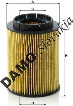 Olejový filter MANN FILTER HU 932/6 n