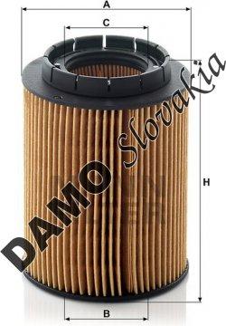Olejový filter MANN FILTER HU 932/6 x