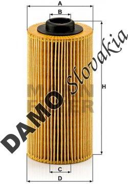 Olejový filter MANN FILTER HU 938/4 x