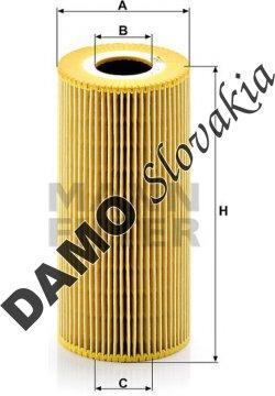Olejový filter HU 951 x