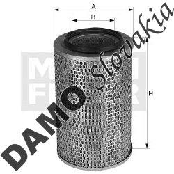 Vzduchový filter C 31 1256/1