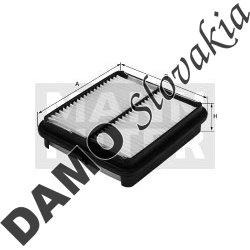 Vzduchový filter C 3146