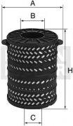 Filter hydrauliky MANN FILTER H 34 1790