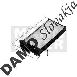 Kabínový filter CU 2542-2