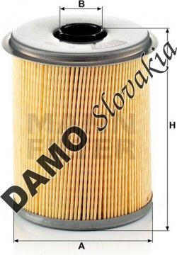 Palivový filter P 735 x