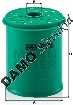 Palivový filter P 738 x