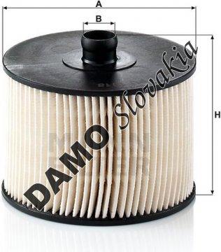 Palivový filter PU 1018 x
