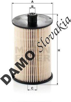 Palivový filter PU 820 x