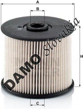 Palivový filter PU 830 x