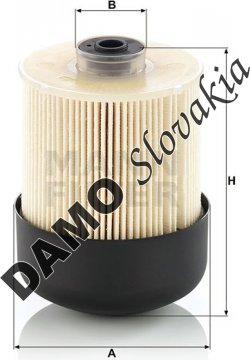 Palivový filter MANN FILTER PU 9011 z KIT