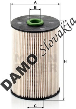 Palivový filter PU 936/1 x