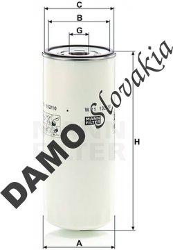 Olejový filter MANN FILTER W 11 102/10