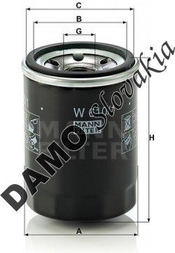 Olejový filter W 610/1