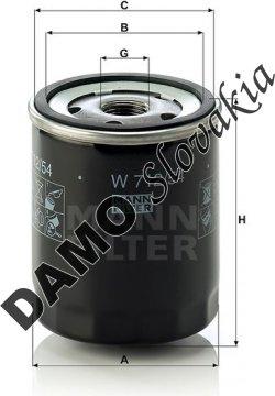 Olejový filter W 712/54