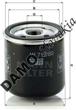 Olejový filter W 712/80