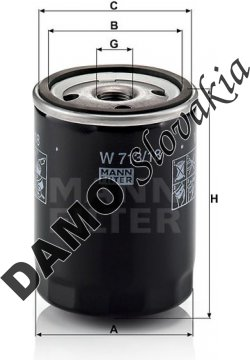 Olejový filter W 713/18