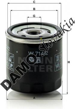 Olejový filter W 714/2
