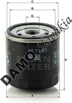 Olejový filter W 714/3